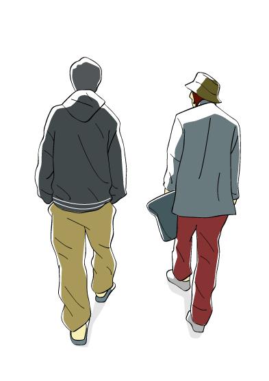 ふたりの若者